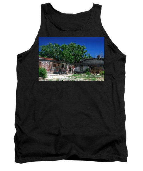 Tank Top featuring the photograph Somewhere On Hwy 285 Number Three by Lon Casler Bixby