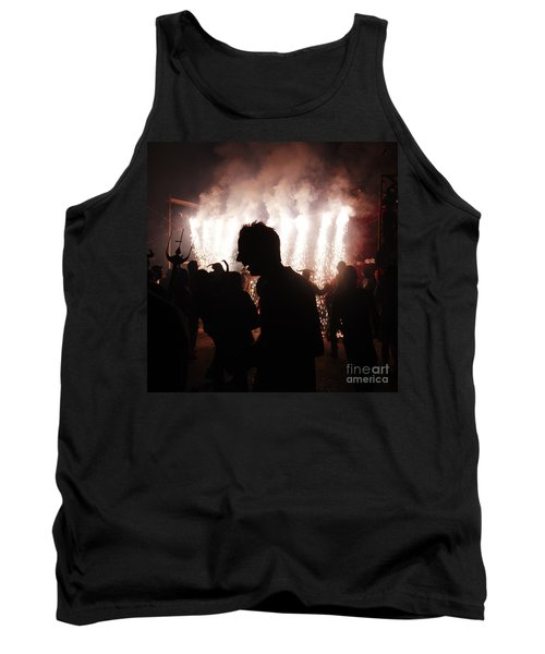 Spark Backlighting Tank Top