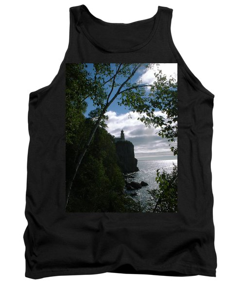 Tank Top featuring the photograph Split Rock II by Bonfire Photography