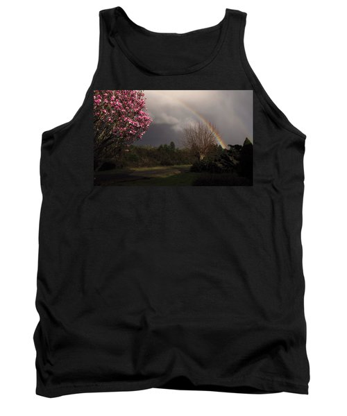 Tank Top featuring the photograph Spring Rainbow by Katie Wing Vigil