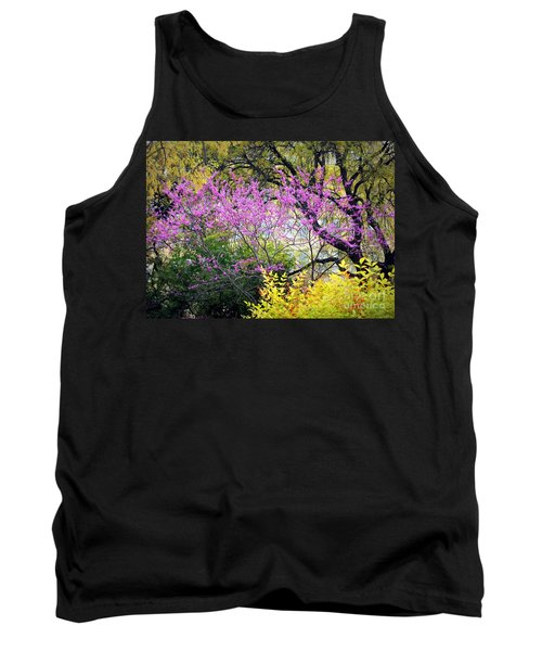 Spring Trees In San Antonio Tank Top