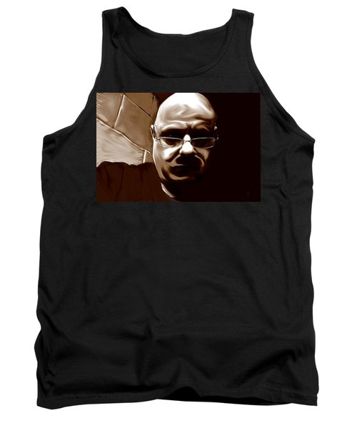 Tank Top featuring the mixed media Stalker IIi  by Terence Morrissey