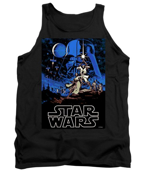Star Wars Poster Tank Top
