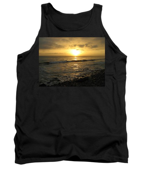 Storm At Sea Tank Top by Bruce Carpenter