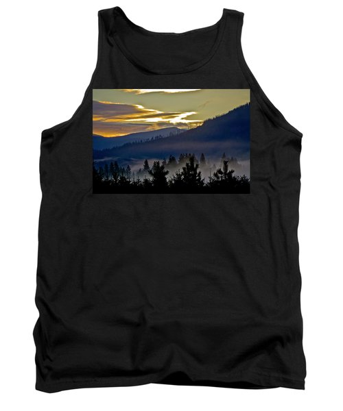 Sunrise And Valley Fog Tank Top by Albert Seger