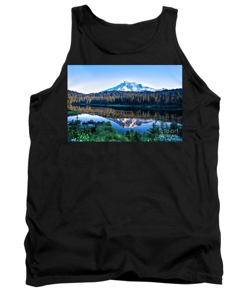 Sunrise At Reflection Lake Tank Top