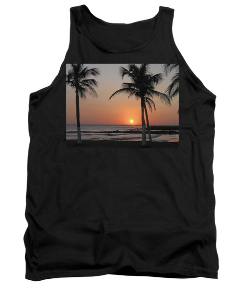 Tank Top featuring the photograph Sunset by David Gleeson