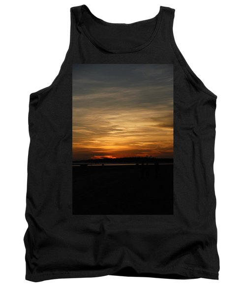 Tank Top featuring the photograph Sunset In Pastels by Fotosas Photography