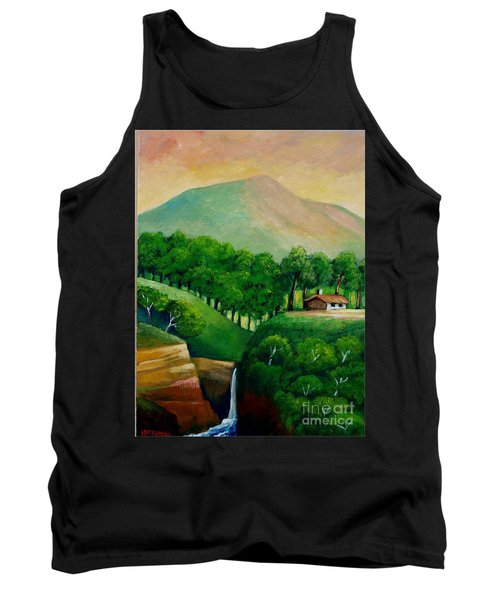Sunset In The Mountain Tank Top