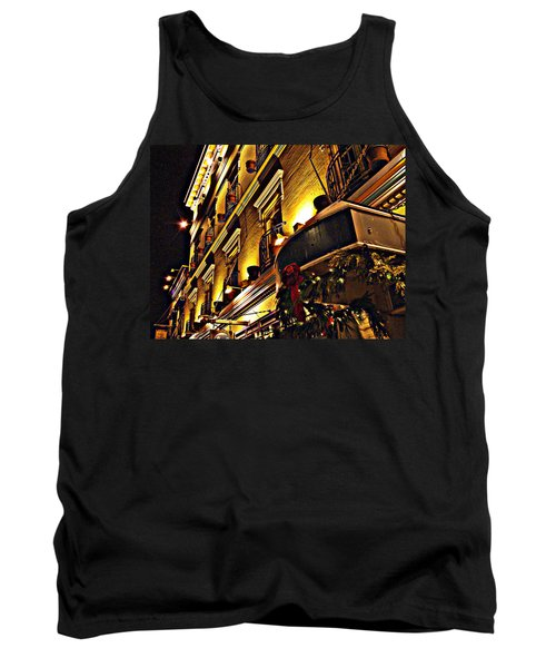 Tank Top featuring the photograph Swans Hotel by Marilyn Wilson