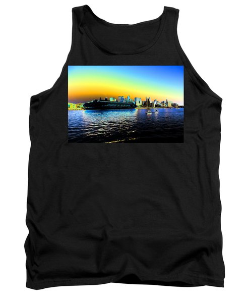 Sydney In Color Tank Top by Douglas Barnard