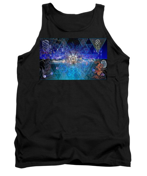 Synesthetic Dreamscape Tank Top by Kenneth Armand Johnson