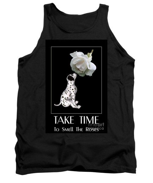 Take Time To Smell The Roses Tank Top by Smilin Eyes  Treasures