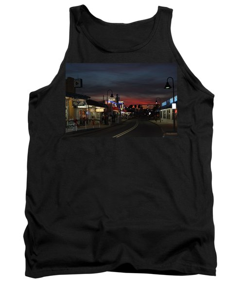 Tank Top featuring the photograph Tarpon Springs After Sundown by Ed Gleichman