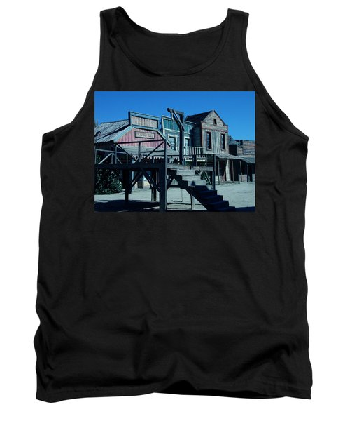Taverna Western Village In Spain Tank Top by Colette V Hera  Guggenheim