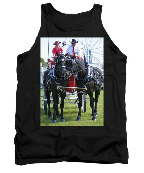 Tank Top featuring the photograph Tender Moment by Davandra Cribbie