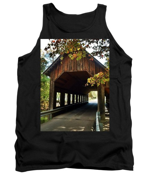 Tank Top featuring the photograph Tennesse Covered Bridge by Janice Spivey