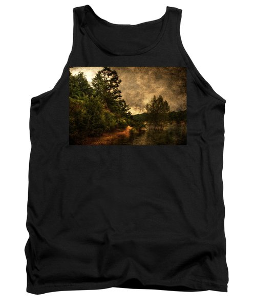 Textured Lake Tank Top