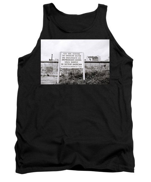 Berlin Wall American Sector Tank Top