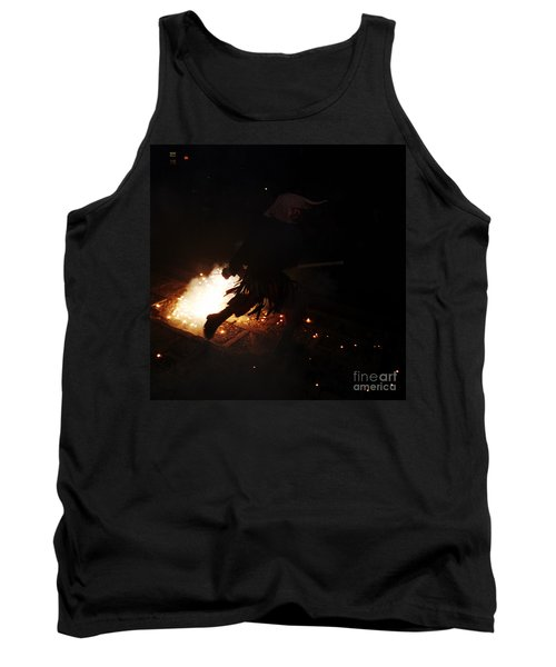 The Devil Of The Stairs Tank Top