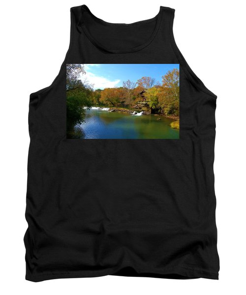 Tank Top featuring the photograph The Grist Big River by Peggy Franz