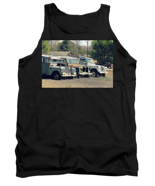 The Land Rover Graveyard Tank Top