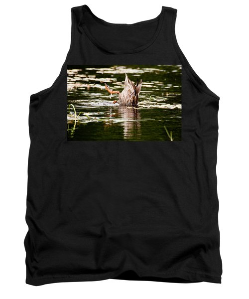The Meaning Of Duck Tank Top by Brent L Ander