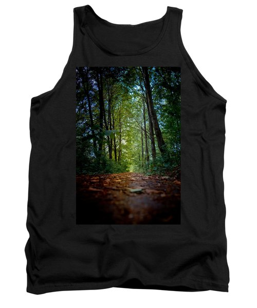 The Pathway In The Forest Tank Top