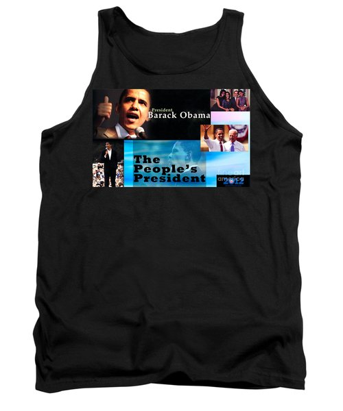 The People's President Tank Top by Terry Wallace