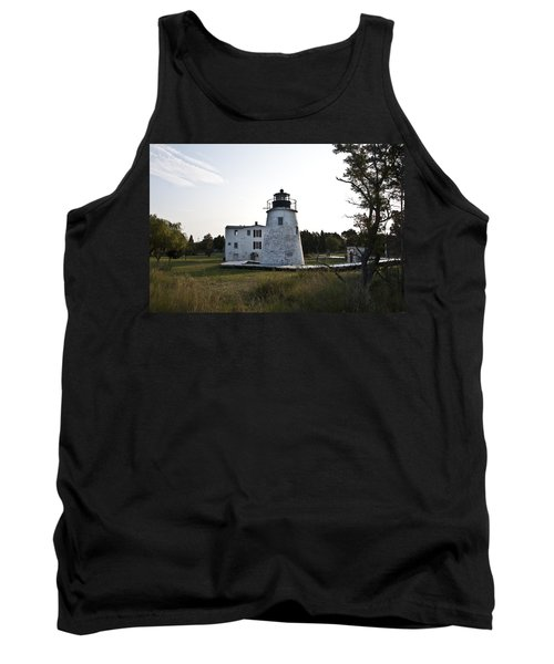The Piney Point Lighthouse Tank Top