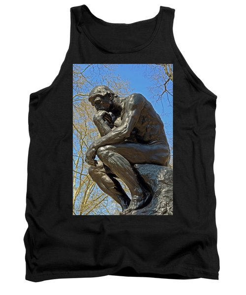 The Thinker By Rodin Tank Top