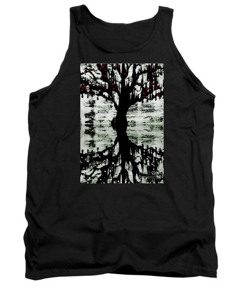 The Tree The Root Tank Top by Amy Sorrell