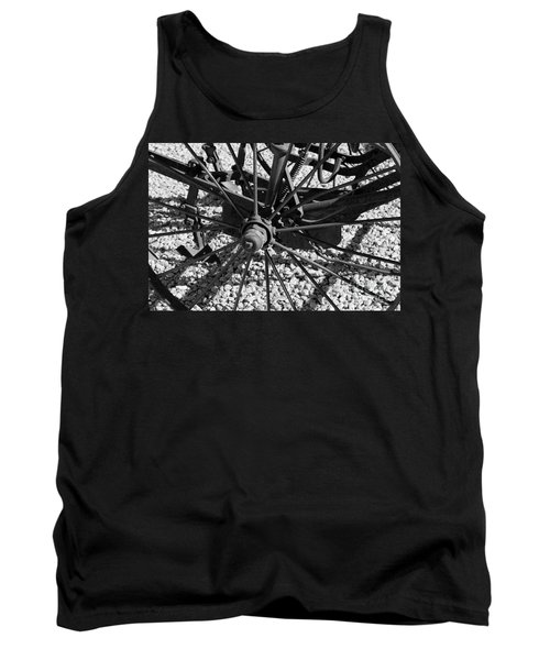 The Wheel Tank Top by Pamela Walrath