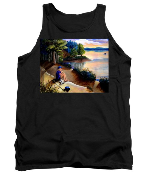 The Wish To Fish Tank Top