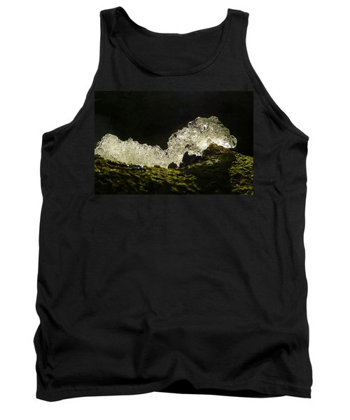 Tank Top featuring the photograph This Is A Very Hungry Cold Caterpillar  by Steve Taylor