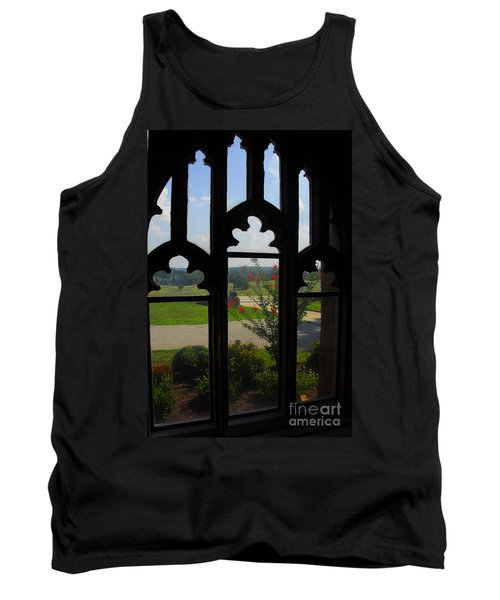 Tank Top featuring the photograph Through The Chapel Arches by Cindy Manero
