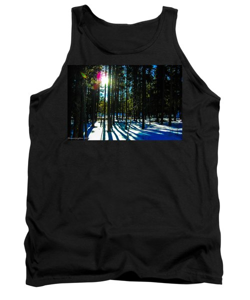 Tank Top featuring the photograph Through The Trees by Shannon Harrington