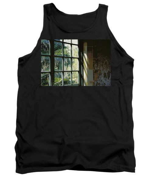 Tank Top featuring the photograph View Through The Window by Marilyn Wilson