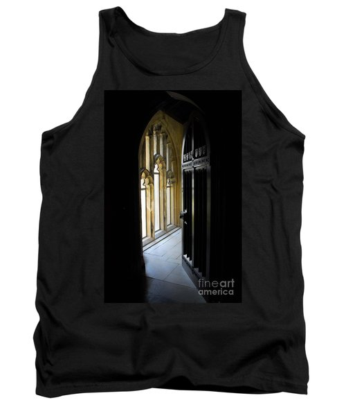 Tank Top featuring the photograph Thru The Chapel Door by Cindy Manero