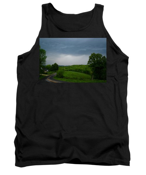 Tank Top featuring the photograph Thunderstorm by Kathryn Meyer