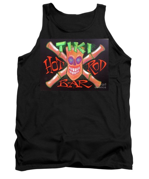 Tiki Hot Rod Bar Tank Top