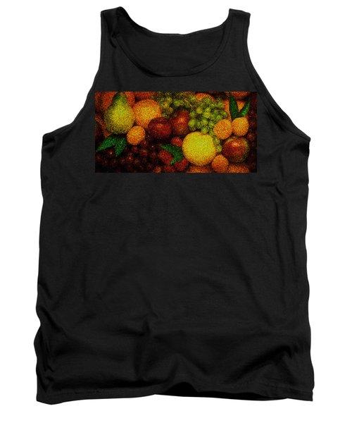 Tiled Fruit  Tank Top