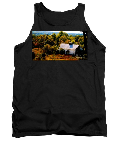 Tank Top featuring the photograph Touch Of Old Country by Peggy Franz