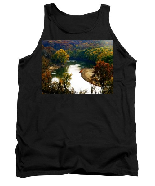 Tank Top featuring the photograph Tranquil View by Peggy Franz