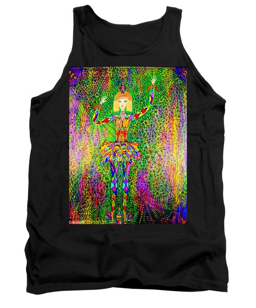 Trapped Ballerina Tank Top