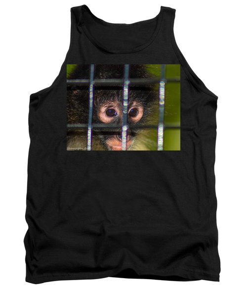 Trapped Tank Top by Shannon Harrington