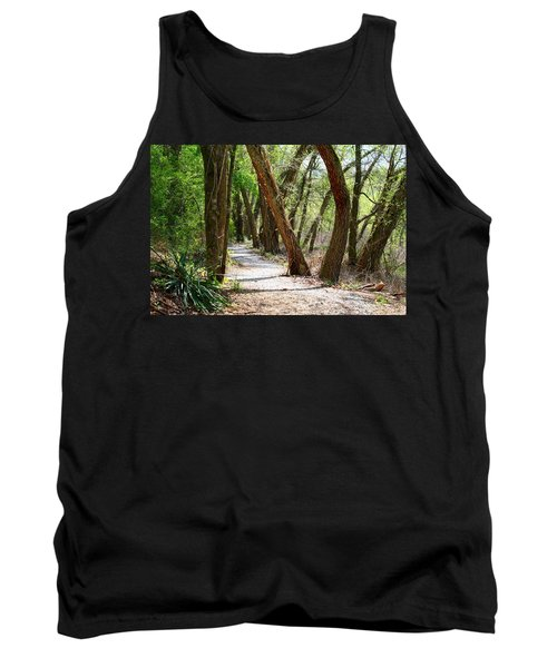 Tank Top featuring the photograph Trestle Walk by Kathryn Meyer