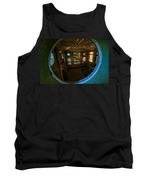 Trough The Round Window Tank Top by Nathan Wright