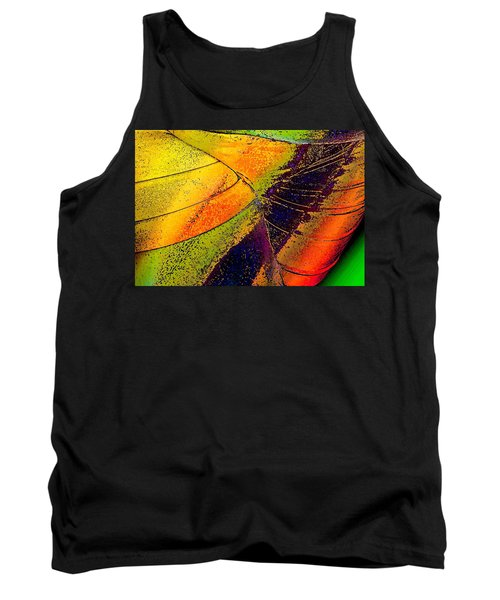 Tank Top featuring the photograph Turning Purple  by David Pantuso