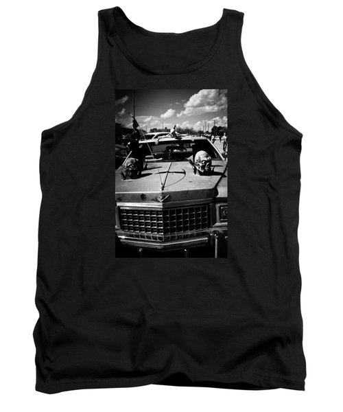 Tank Top featuring the photograph Skulls On The Lookout by Toni Hopper